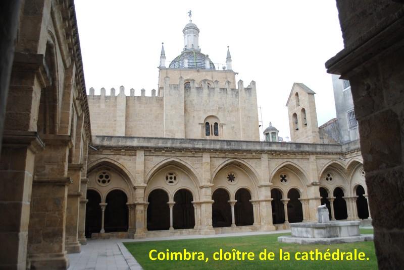 07.  Coimbra cloître de la Sé (cathédrale)