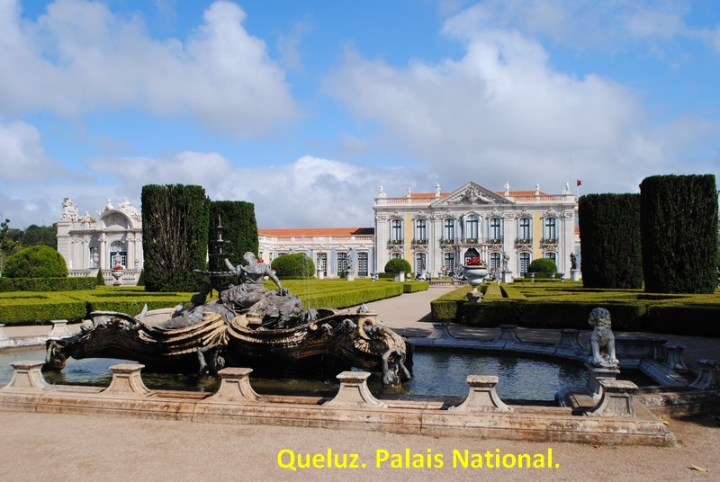 114 Queluz. Palais national