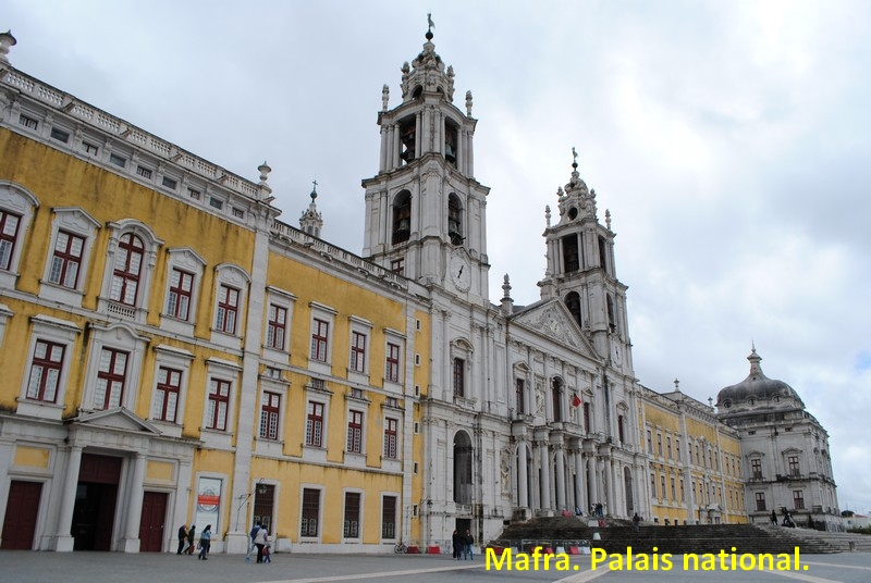 142 Mafra. Palais national